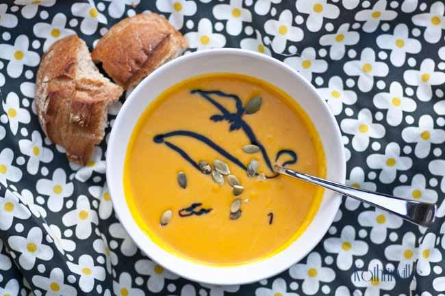 Pumpkin-Mans fruchtige Kürbissuppe III
