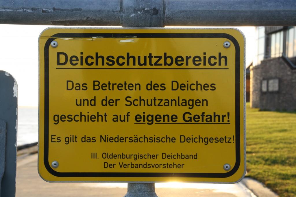 Wilhelmshaven Deichschutzbereich