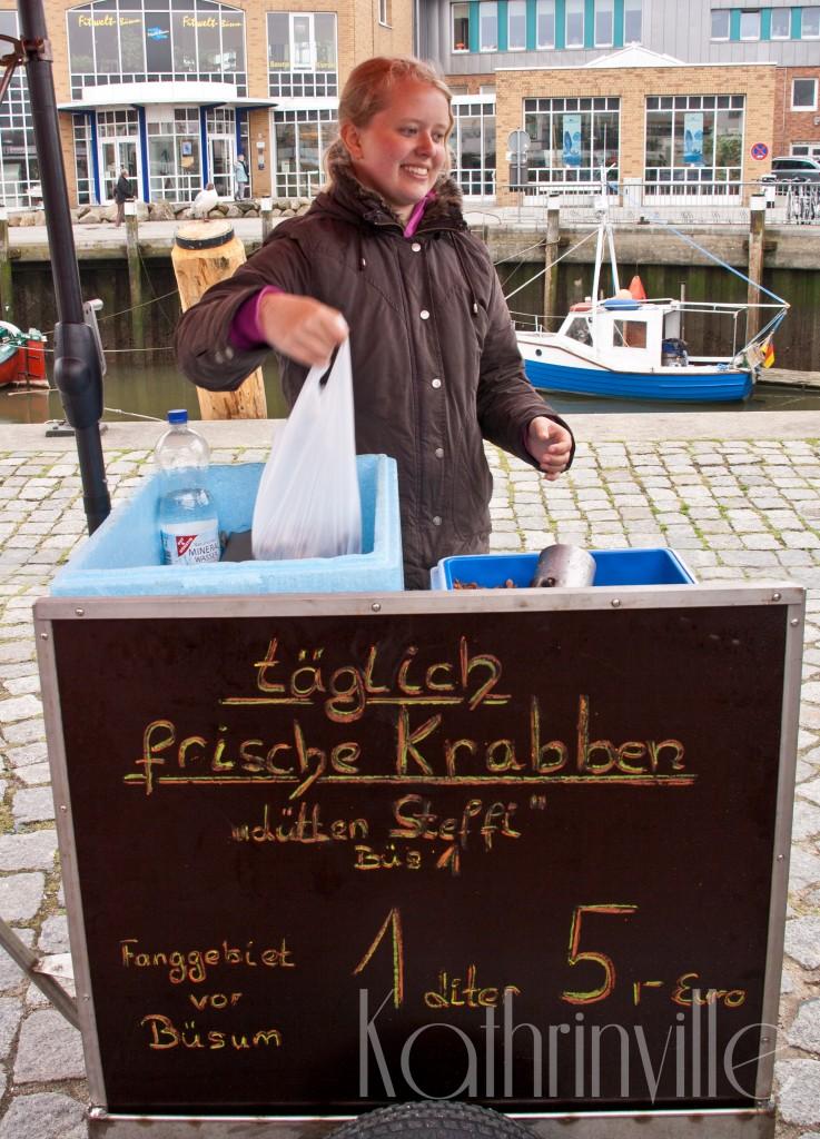 Krabbenstand in Büsum