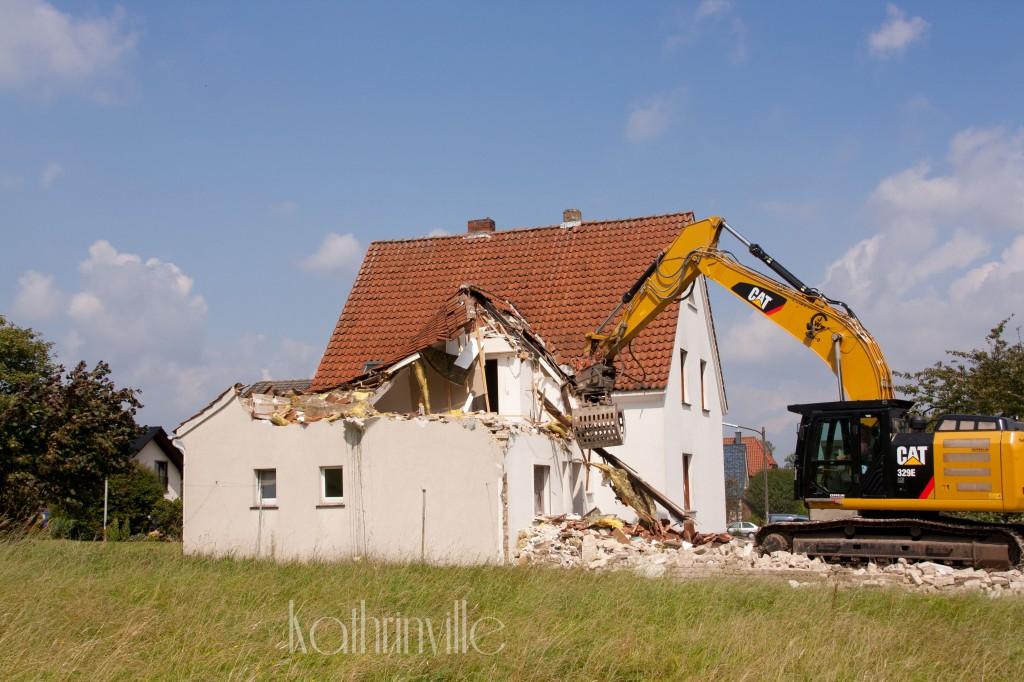 Abbruch Haus
