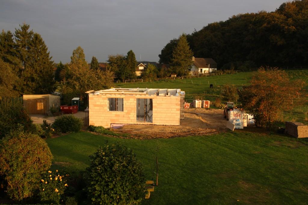 Rohbau - Erdgeschoss